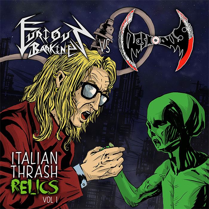 FURIOUS BARKING vs DESMODUS - Italian Thrash Relics Vol. I